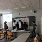 Ateliers animés par des représentants de la Maison de l'Europe de Nantes